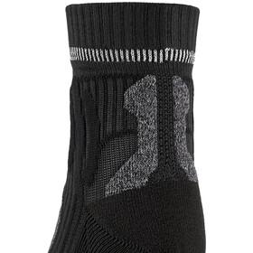 X-Socks Marathon Energy Calcetines Mujer, negro